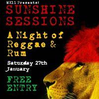 MK11 Presents Sunshine Sessions - A Night Of Reggae &amp Rum