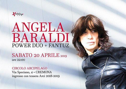 Angela Baraldi Power Duo  Fantuz - Live at Circolo Arcipelago