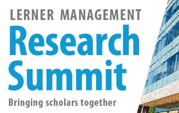 Lerner Management Research Summit 2019