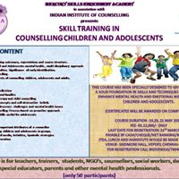 Training in Counselling children