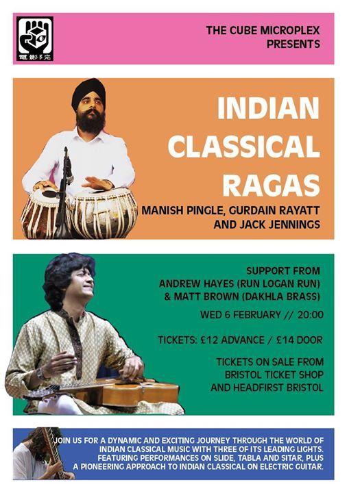 Indian Classical Ragas w M Pingle G Rayatt & J Jennings