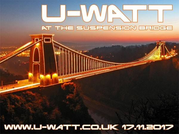 U-Watt at The Suspension Bridge