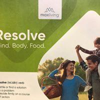 Resolve  Mind Body Food