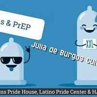 PrEP &amp Condoms at Julia de Burgos