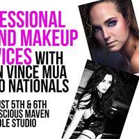 Professional Hair &amp Makeup for USNPC