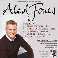 Aled Jones UK Tour - Lichfield Cathedral