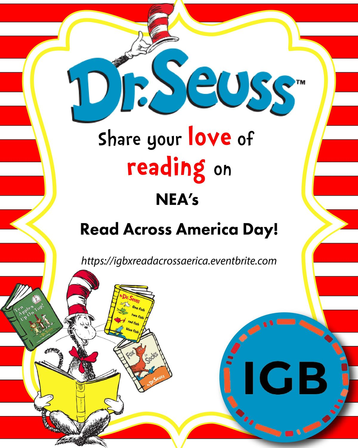IGB takes Read Across America Day