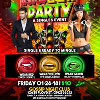 STOP LIGHT PARTY...SINGLES GET READY TO MINGLE