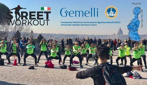 Street Workout E Policlinico Gemelli At Terrazza Del