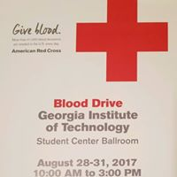 American Red Cross Club August 28-31 Blood Drive