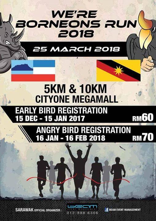 Were Borneon Run 2018