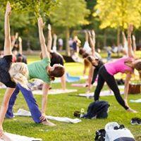 Aulo de pilates no parque So Jos
