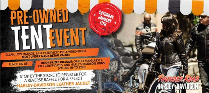 Pre-Owned Tent Event at Thunder Road Harley-Davidson -DanvilleVA Danville & Pre-Owned Tent Event at Thunder Road Harley-Davidson -DanvilleVA ...