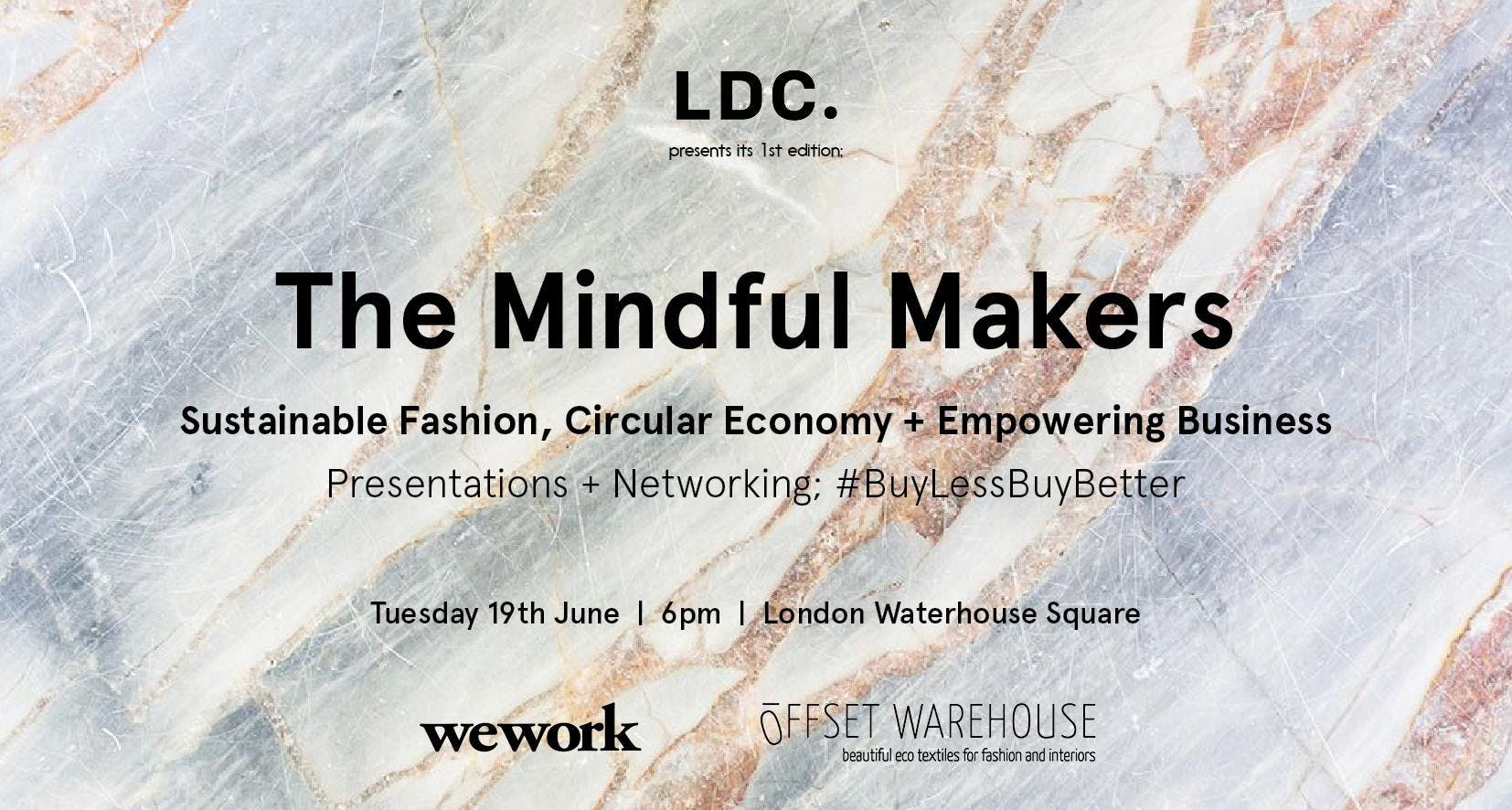 The Mindful Makers Presentations  Networking Evening