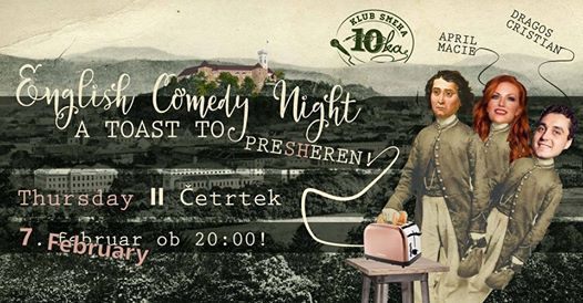 English Comedy Night - A toast to Presheren