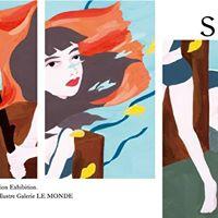 momoko nakamura illustration exhibition. see more