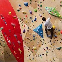 Hikers- Indoor Climbing