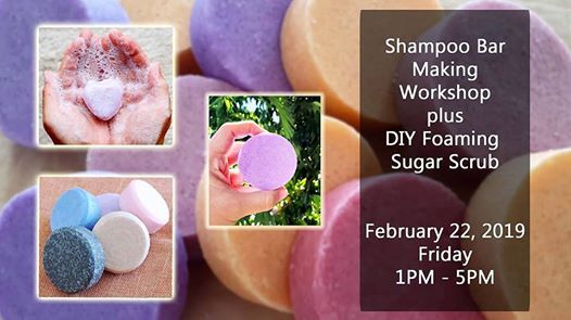 Shampoo Bar Making  Foaming Whipped Sugar Scrub W