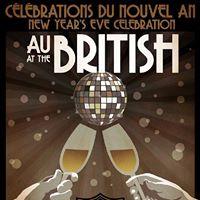 Party du jour de lAn au British NYE Party at The British
