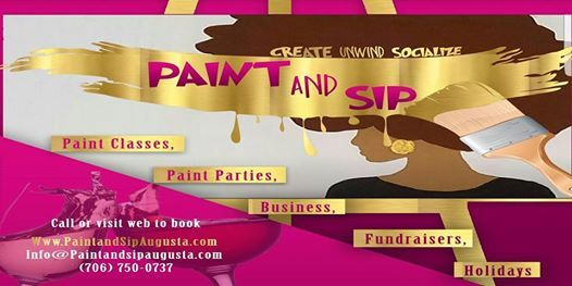 Paint & Sip - Throw Back to the 90s & 00s