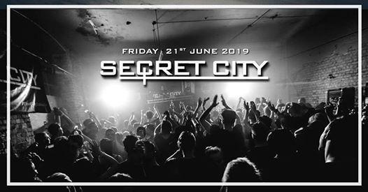 SecretCity - Friday 21st June - Secret Location