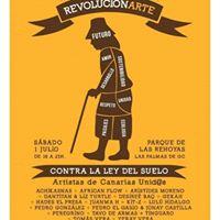 RevolucionArte Artistas canaris contra la Ley del Suelo