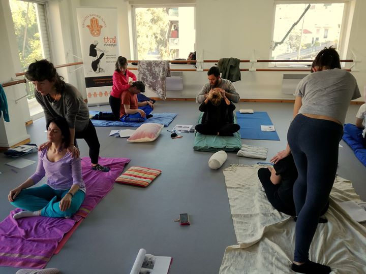 THAI Massage Training in Athens (bilingual in English & Greek)