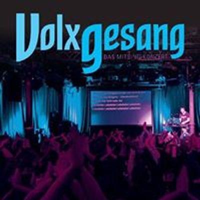 VolxGesang, das Mitsing-Konzert
