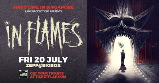 In Flames - Live in Singapore
