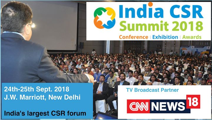 India CSR Summit & Exhibition 2018