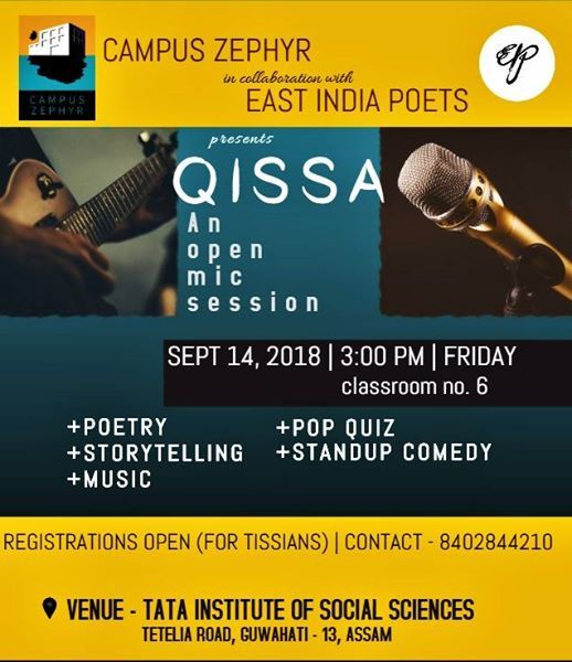 QISSA - An open mic session
