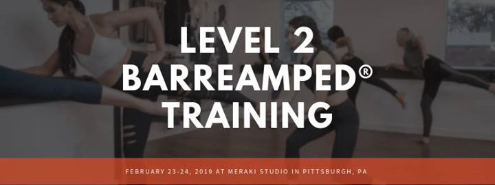 Level 2 BarreAmped Training in Pittsburgh PA