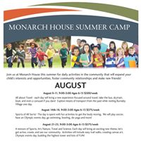 Summer Camp - Sports Art Nature Travel and Science