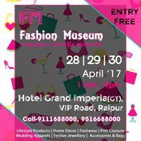 Fashion Museum Exhibition- Summer Splurge