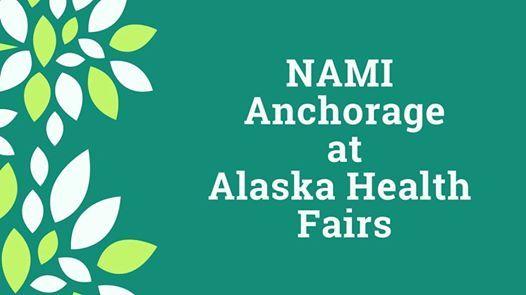 NAMI Anchorage at Health Fair at the University Center Mall