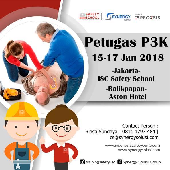 Training Petugas P3K Tanggal 15-17 Januari 2018