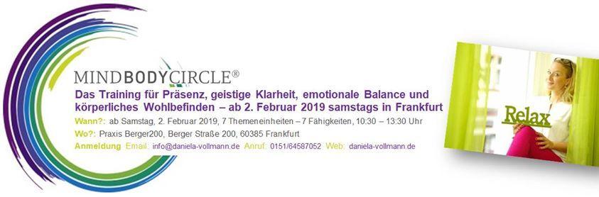 MindBodyCircle Frankfurt - Baustein 7 Gesundheit & Wohlbefinden
