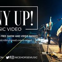 Pony Up Music Video Filming and Free SHOW
