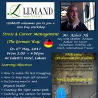 Stress and Career Management- The German Way