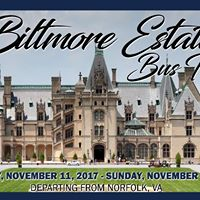 Biltmore Estate Bus Trip (Norfolk Departure)