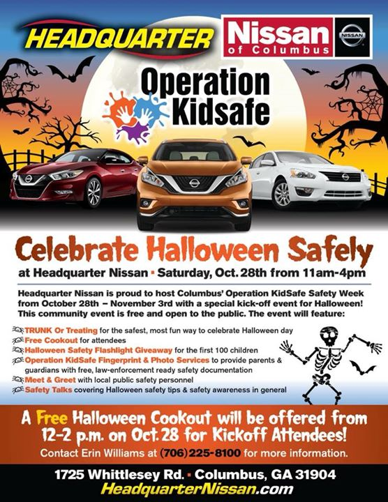 Halloween Trunk Or Treat And Kid Safety Week Kick Off