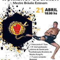 Workshop de Sanda com Mestre Brulio Estevam