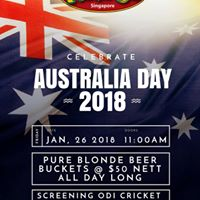 Australia Day 2018 at Mogambo