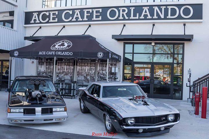 Spring Fling Car Show Saturday Pmpm At Ace Cafe Orlando Orlando - Ace cafe orlando car show