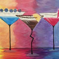 Symposium Cafe Waterloo - Painting Night &quotCocktail Hour&quot - July