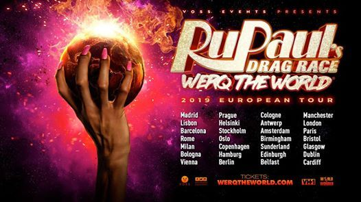 RuPauls Drag Race Werq The World - Barcelona (Second Show)