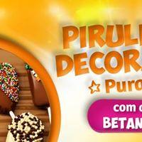 Curso Festas Pirulitos decorados