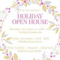 Holiday Open House - Nov. 30 &amp Dec. 1