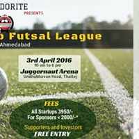 Inter Startup Futsal League - Ahmedabad in association with AEFest