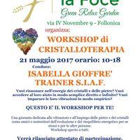 Workshop di Cristalloterapia